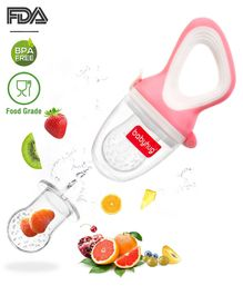 Babyhug Fruit & Food Nibbler Easy Grip - Pink