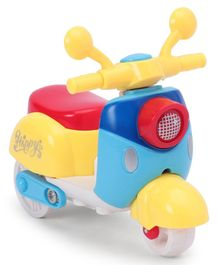 Friction Toy Scooter (Color & Print May Vary)