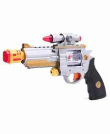 Laser Sound Toy Gun - Orange Silver