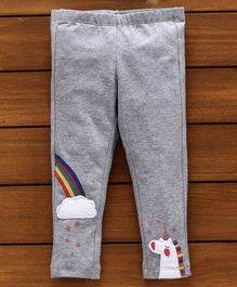 UCB Full Length Pant Unicorn Patch - Grey