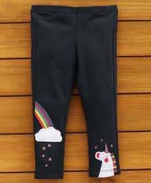 UCB Full Length Pant Unicorn Patch - Navy