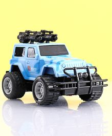 Friction Powered Jeep - Blue