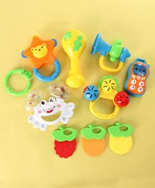 Musical Rattle Set of 7 - Multicolor