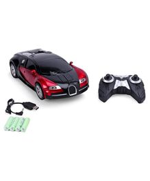 Remote Control Transformer Toy Car With Charger - Red