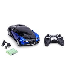 Remote Control Transformer Toy Car With Charger - Blue