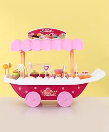 Sweet Shop Luxury Candy Car - Pink