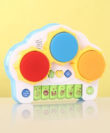 Electronic Drum With Keyboard - Multicolor