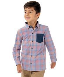 Cherry Crumble California Full Sleeves Checked Shirt - Multi Colour