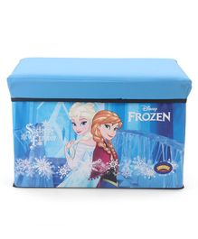 Disney Frozen Folding Storage Sitting Bin - Blue