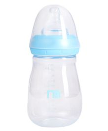 Mothercare Wide Neck Bottle Blue - 250 ml