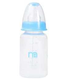 Mothercare Narrow Neck Bottle Blue - 150 ml