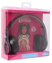Barbie Foldable Wireless Bluetooth Headphones - Black