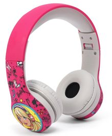 Barbie Foldable Headphones - Pink