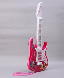 Barbie Electronic Guitar With Music & Light - Pink