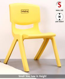 Babyhug Chair With Comfortable Back Rest - Yellow