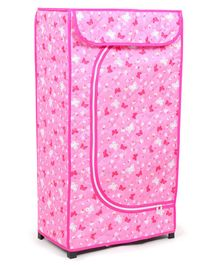 Storage Unit With 3 Shelves - Pink