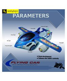 Zest 4 Toyz 360 Degree Rotating Flying Car with Flashing Light & Sound