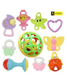 Zest 4 Toyz Rattle Toy Set - 10 Pieces