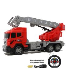 Zest 4 Toyz Steering Remote Controlled Fire Fighting Truck - Red