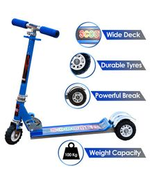 Zest 4 Toyz 3 Wheel Scooter With Brake - Assorted
