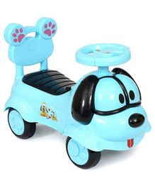 Happykids Foot To Floo Ride On Car With Music and lights - Blue