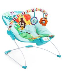 Kids II Bright Starts Safari Surprise Bouncer - Blue