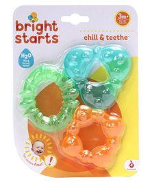 Kids II Bright Starts Teether Pack Of 3 - Multicolor