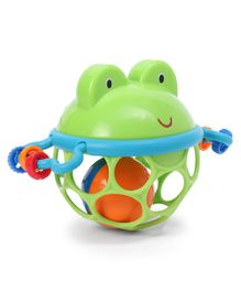 Kids II Jingle & Shake Rattle Toy - Green