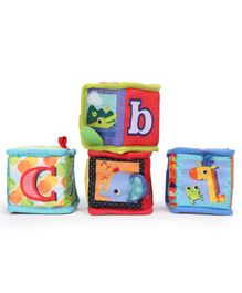 Kids II Bright Starts Grab & Stack Blocks - Multicolor