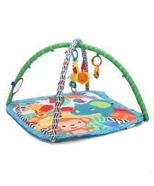 Kids II Bright Starts Zippy Zoo Activity Gym - Multicolor