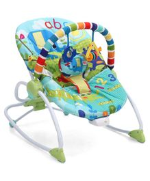 Kids II Bright Starts Merry Sunshine Rocker - Multicolor