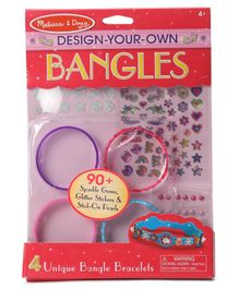 Melissa & Doug DIY Bangles Kit - Multicolour