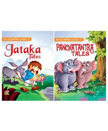 Jataka Tales & Panchatantra Story Books Combo Collection - English