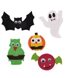 Li'll Pumpkins Finger Puppets Pack of 5 - Multi Colour