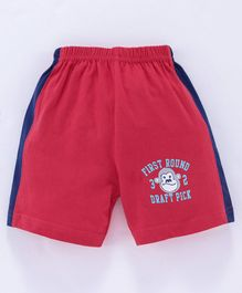 Tango Shorts Monkey Print - Red
