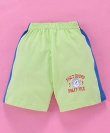 Tango Shorts Monkey Print - Light Green