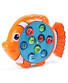 Simba Fishing Game - Orange Blue