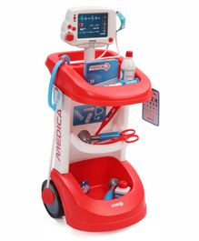 Smoby Doctor Trolley Set Multicolor - 12 Pieces