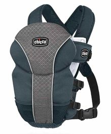 Chicco Ultrasoft Baby Carrier - Black Grey
