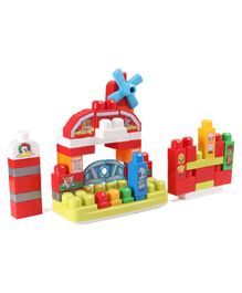 Mega Bloks Musical Farm Block Set Multicolour - 46 Pieces