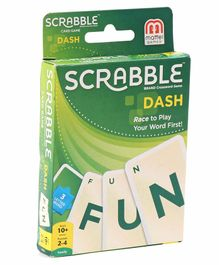 Mattel Scrabble Dash Card Game - Green