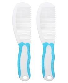 1st Step Cute Soft Grip Comb Pack of 2 - Blue