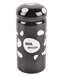 Yellow Bee Hot & Cold Thermos Flask Black - 330 ml