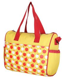 VParents Dimpy Dimpy Multipurpose Diaper Bag Cum Mother Bag - Yellow