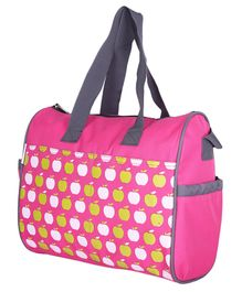 VParents Dimpy Dimpy Multipurpose Diaper Bag Cum Mother Bag - Pink