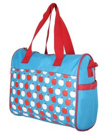 VParents Dimpy Dimpy Multipurpose Diaper Bag Cum Mother Bag - Blue