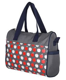VParents Dimpy Dimpy Multipurpose Diaper Bag Cum Mother Bag - Grey