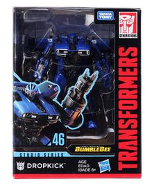 Transformers Dropkick Studio Series Figure Black & Blue - Height 12.5 cm