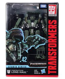Transformer Gen Studio Series Voyager Set Long Haul Green - Height 16 cm