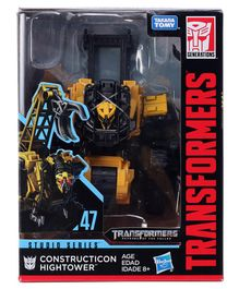 Transformers Force Construction Hightower  Figure  yellow-Hight  - 15 cm